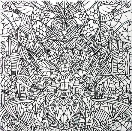 Dualismo Cosmico - 40x40