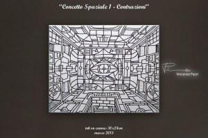 Concetto Spaziale 1 - Contrazioni