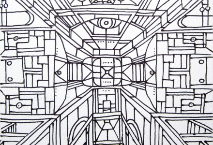 Concetto Spaziale 2 - Dilatazioni - 30x24