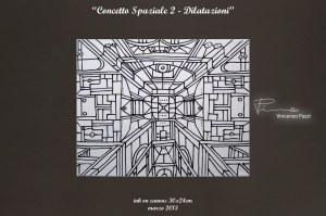 Concetto Spaziale 2 - Dilatazioni