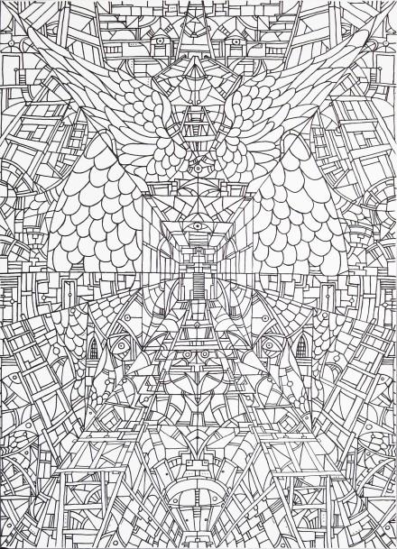 Concetto Spaziale 4 - Vie di Fuga - 65x90