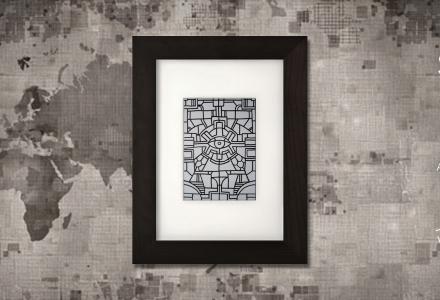 Senza Pensieri 2 framed