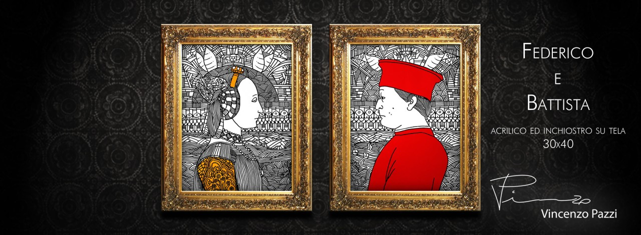 Federico e Battista framed