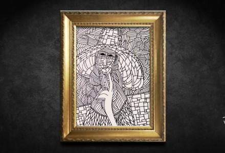 Jeanne framed