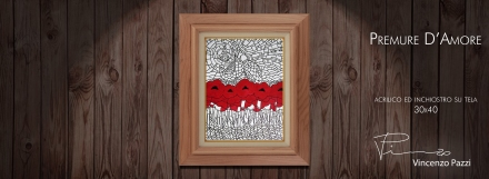 Premure d'Amore (Love's Attentions) framed