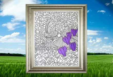 Primavera framed