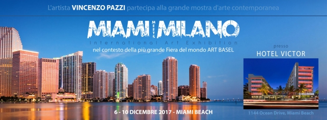 """Miami meets Milano"" - Hotel Victor (Miami Beach, USA) 6-10 dic 2017"